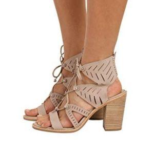 Dolce Vita 'Luci' nude lace up sandal